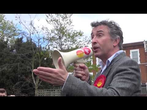 Steve Coogan forgets which party he supports