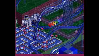 My OpenRCT2 Park - Challenger | Mystery of Hazard Lake (floorless)
