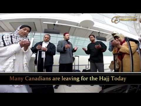 Canadians Leaving for Hajj | Dr. Hamid Slimi