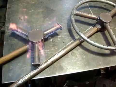 Газовая горелках для казана своими руками 140