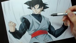Speed Drawing - Black Goku (Dragon Ball Super)