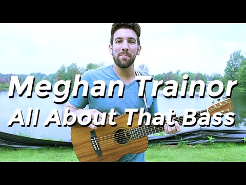 Meghan Trainor - All About That Bass (guitar Lesson) By Shawn Parrotte video