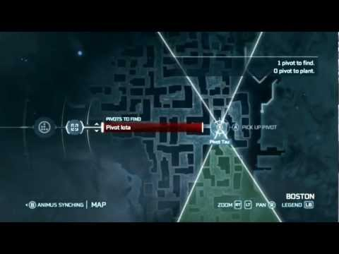 Assassin's Creed 3 - Animus Syncing Pivots Explained