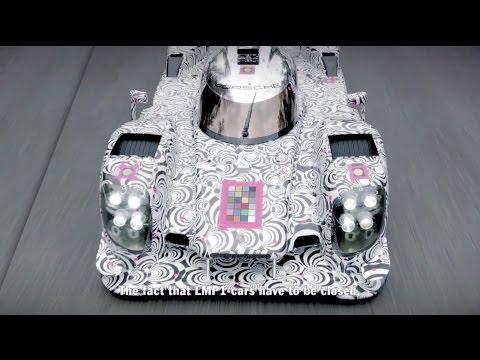 Porsche 919 LMP1 Car