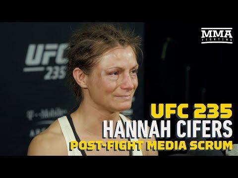 UFC 235: Hannah Cifers Declined Hospital Transport Despite Possible Broken Arm - MMA Fighting