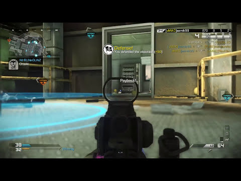 Call of Duty: Advanced Warfare Toughness Perk - (CoD AW Multiplayer Gameplay)