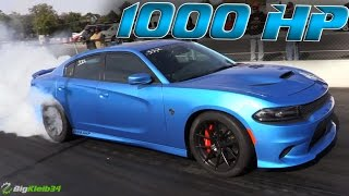 1000hp Charger Hellcat vs the Quarter Mile