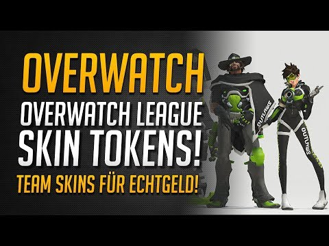 Overwatch League SKINS FÜR ECHTGELD kaufen | Overwatch League Tokens vorgestellt ★ Overwatch Deutsch