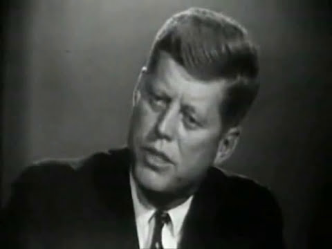 John F. Kennedy On Nbc's meet The Press (october 1960) video