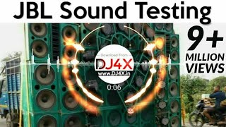 JBL Sound System Beat Test 🎧 JBL DJ Blast Sound Testing | Hard Vibration