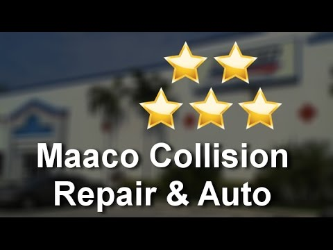 Maaco Collision Repair & Auto Painting Delray Beach Incredible Five Star Review by Tony C.