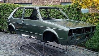 1980 Volkswagen Golf MK1 1.1 GG Full Restoration Project