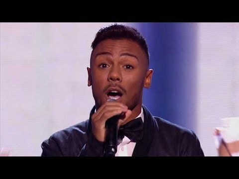 Marcus Collins has Moves Like Jagger - The X Factor 2011 Live Show 1 - itv.com/xfactor