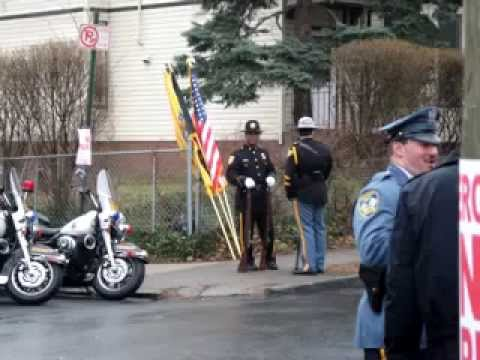 police tribute for paterson officer franklin