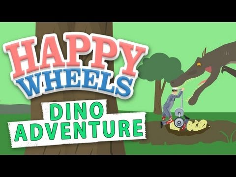 Dino Adventure (Happy Wheels)
