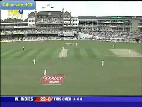 Chris Gayle Made Test History - 6 Fours In An Over video