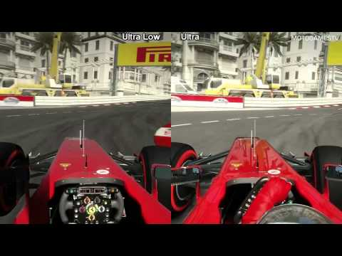 F1 2012 PC - Ultra Low vs Ultra - Graphics Comparison