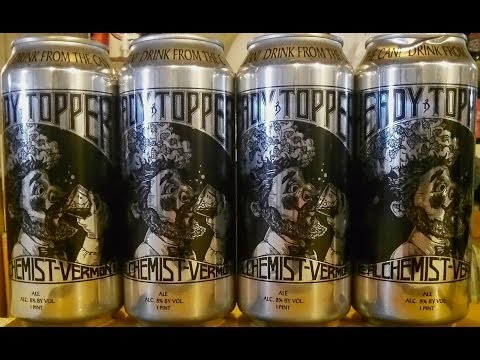The Alchemist Heady Topper Over Time ✪ 70 Day Exploration ✪ (8.0% ABV) DJs BrewTube Beer Review #504