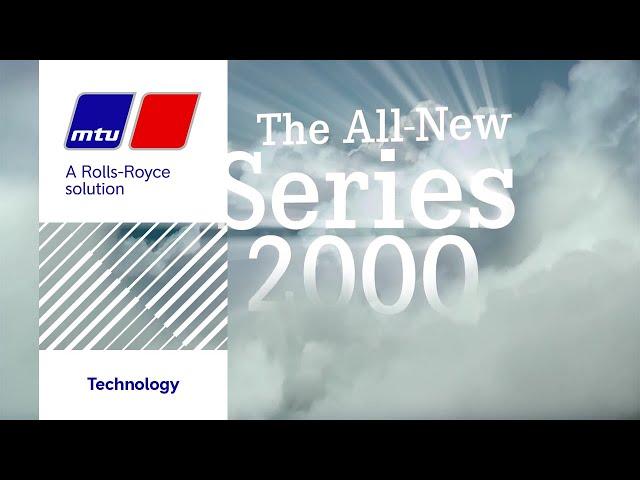 The New MTU Series 2000.