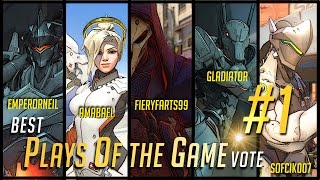 Overwatch | Best Plays of the Game #1 - Top 5 PotG - Vote