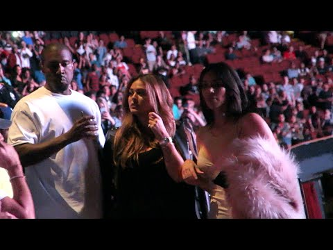MEETING KANYE WEST & KIM KARDASHIAN