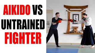 Aikido VS Untrained Fighter • Aikido Quest