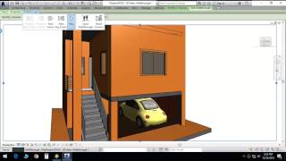 Duplex house plan in 20X30 site with car parking and 2 master bedrooms