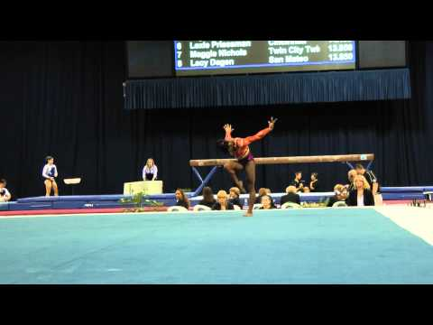 Simone Biles -- Floor Exercise -- 2012 U.S. Secret Classic