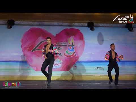 JAVIER & DAVID SALSA SHOW  - LEBANON LATIN FESTIVAL 2018