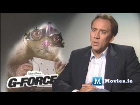 Why Nicolas Cage became a Mole - G-Force Interview