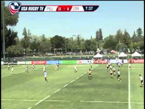 2013 Emirates Airline USA Rugby Women's College Championship - PSUvsUSN