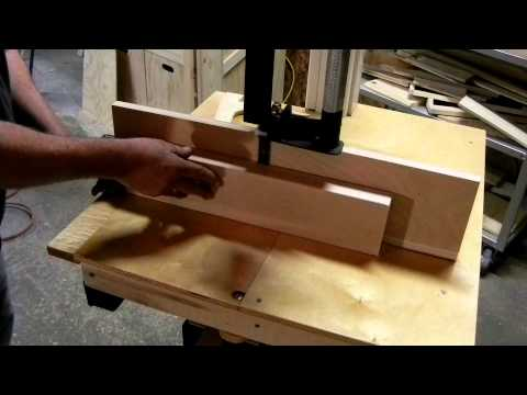 Homemade Band Saw: Cut Demo