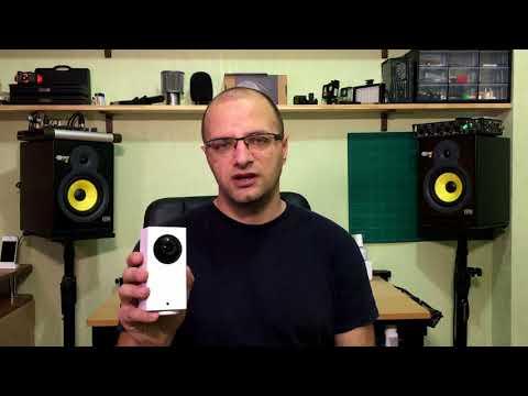 Камера XIAOMI Dafang 1080p – дистанционное наблюдение, запись, двусторонняя связь и многое другое