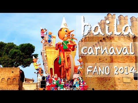 Baila carnaval – carnevale di Fano 2014 – canzoni per bambini – baby music songs