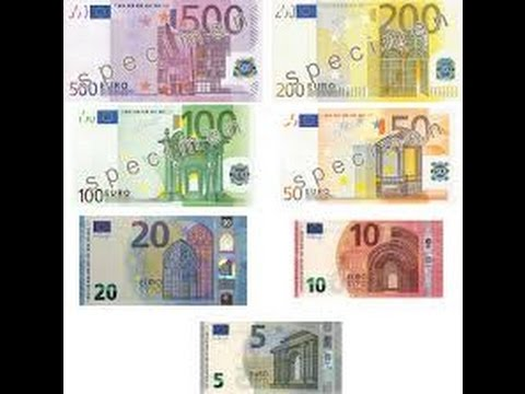 Production of the new 10 Euro banknotes
