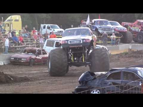 Warrenton, Missouri County Fair Monster Trucks-Ground Pounder Save