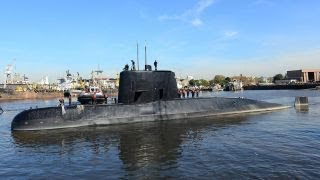 Argentine navy reports an explosion near missing submarine