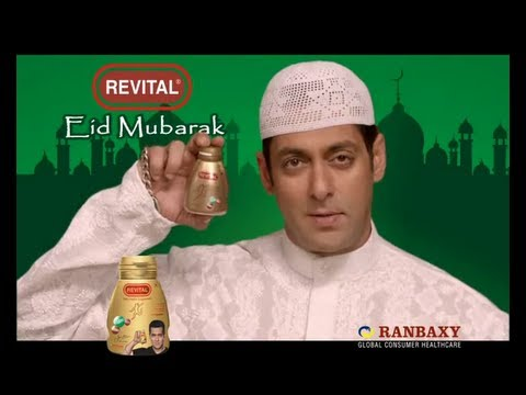 Eid Mubarak from Revital and Salman Khan