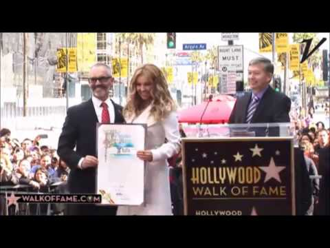 THALIA SU ESTRELLA EN HOLLYWOOD!!!   Thalia Walk of Fame