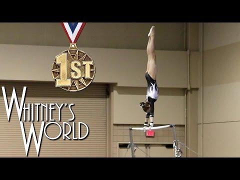 Whitney Bjerken | 2nd Level 8 Gymnastics Meet | All Around Champion