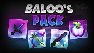 Minecraft PvP Texture Pack - Baloo's Purple and Blue Fade Pack 16x[1.7/1.8]