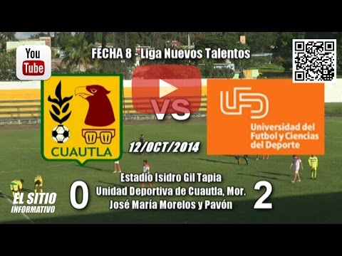 Arroceros Cuautla 0 - 2 Centro Universitario del Futbol / (12/Oct/2014)