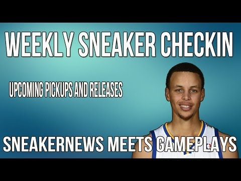 Weekly Sneaker Check-In   Hangout with Stephen Curry