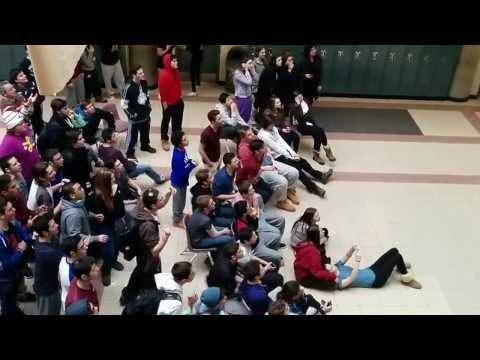 High School Reacts to Canada vs USA Women's Hockey Gold Medal Goal Sochi 2014
