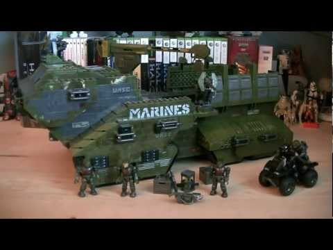 Halo Mega Bloks 96942 UNSC Elephant Review