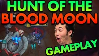 ASSASSIN'S WET DREAM!! HUNT OF THE BLOOD MOON GAMEPLAY!! (PBE NEW GAME MODE) - PBE League of Legends