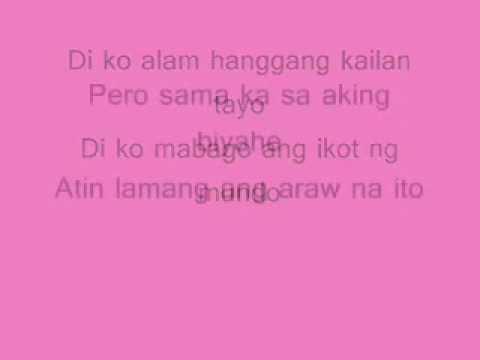 Biyahe - Josh Santana (Lyrics)