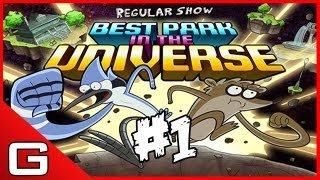 Best Park In The Universe - Regular Show [The Park Level 1] Walkthrough HD