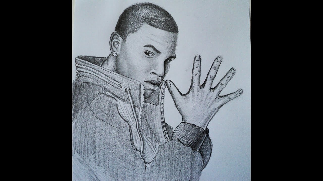 Brown Pencil Drawings How to Draw Chris Brown