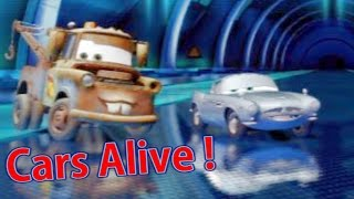 CARS ALIVE ! Cars 2 gameplay - Tow Mater VS Finn McMissle